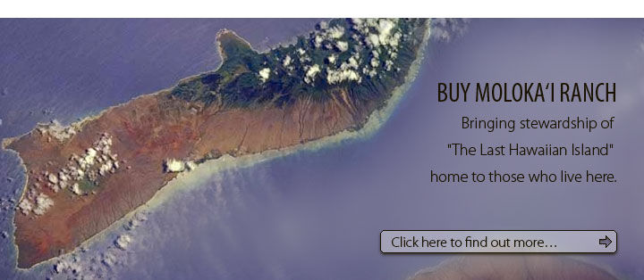 Buy Moloka'i Ranch